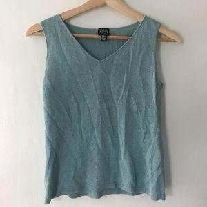 Eileen Fisher linen blend tank top